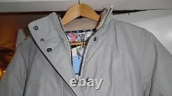 Barbour Arctic Expedition Fibre Down Rembourré Kirby Puffa Coat Jacket Taille Royaume-uni 10