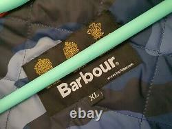 Barbour Broomfield Veste Imperméable Respirante XL Nouveau