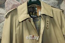 Barbour Cromarty Trench Coat Veste Pierre Mwb0418st51 Nouveau Xx-large XXL Uk Dimensionnement