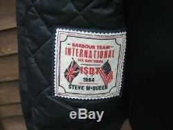 Barbour International Blouson Vert Steve Mcqueen Mwb0505 ny71 Imperméable Taille XL