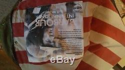 Barbour Rexton Coton Ciré International 38 Steve Mcqueen. U S. Drapeau Doublé