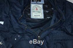 Barbour & Sons Aetna Veste Manteau Marine Mca0359ny51 Nouveau Large L Taille Uk