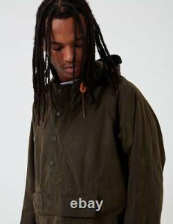Barbour Vêtements D'ingénierie Green Longshoreman Warby Jacket Taille Grande/xl Smock