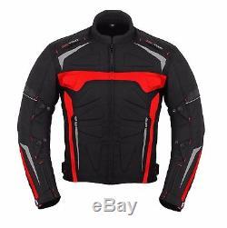 Biker Moto Imperméable Moto 2 Pièce Veste De Costume D'équitation Pantalon Armour