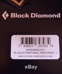 Black Diamond Veste De Point Liquide Goretex Shell De Pluie Alpinisme Homme Lg