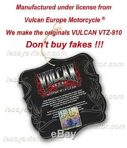 Blouson Moto Vulcan Vtz 910 D'origine En Cuir Ducati Bmw Honda Harley Ktm