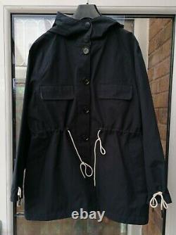 Bnwt Barbour Par Alexa Chung Phoebe Waterproof Jacket Blue Uk10 12 14 Rrp£279