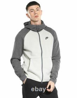 Bnwt Tn Tech Fleece Grey Nike Air Max Jacket Track Top Hoody Hoodie Full Zip