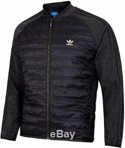 Bomber Adidas Originals Superstar Jacket Mens Black Bp7097 Primaloft Taille. S