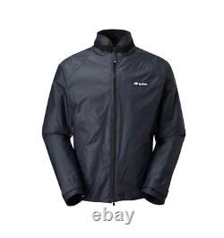 Buffalo Belay Jacket Pertex Military Windproof Noir Nouveau
