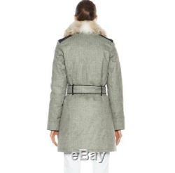 Canada Goose Veste Manteau En Laine Remplie En Laine Noire Branta Modena Label Noir £ 1600 Nouveau