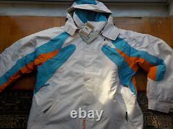 Chiemsee Veste Plusminus Ski Snowboard Hommes XL -10% Off Blanc Respirant Nouveau