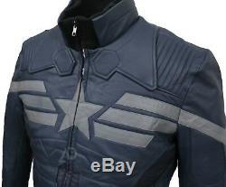 Chris Evans Veste En Cuir Captain America The Winter Soldier