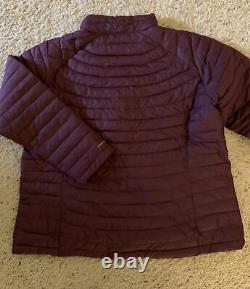 Columbia Femme Plus Taille 2xl Omni Heat Purple New Coat Winter 2x Veste Puffy