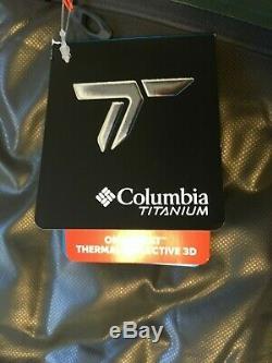 Columbia Titanium Mens Outdry Ex Diamant 800 Veste Piste Sz M Recopier Vers Le Bas De 650 $
