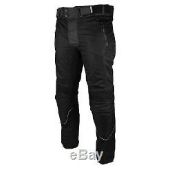 Combinaison De Course Moto Imperméable Moto Veste Codura Bottes En Cuir Pantalon
