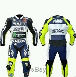 Combinaison De Moto En Cuir Yamaha Rtx Pour Homme, Moto De Protection Motogp