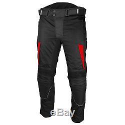 Combinaison De Moto Imperméable Veste De Moto Pantalon Bottes En Cuir Motard Blindé