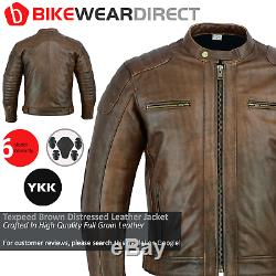 Cuir Moto Veste Moto Avec Ce Protection Thermique Biker Armure