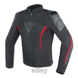 Dainese Mig Cuir-tex Textile En Cuir Moto Moto Veste D'été Vente