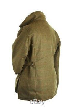 Dames Tweed Coat / Veste Withproof Shoot / Walking Ride Nouveau Tailles 8-22