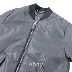 Dolce & Gabbana Crown Logo Zipped Jacket In Black Rrp £565 Dolce & Gabbana Crown Logo Zipped Jacket In Black Rrp £565 Dolce & Gabbana Crown Logo Zipped Jacket In Black Rrp £565 Dolce &
