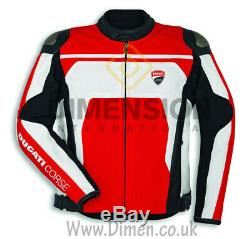 Ducati Corse C4 Jacket 2019 Veste D'équitation Veste En Cuir Ce