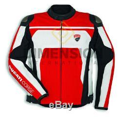 Ducati Corse C4 Veste Moto / Mototourisme Veste Ce Veste En Cuir