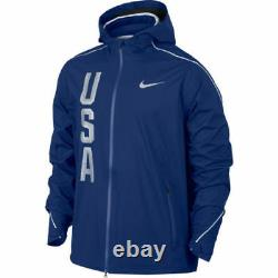 Équipe Olympique Nike Hypershield USA Homme Veste Taille XL 806908 455