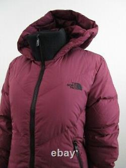 Femmes Des T.n.-o. Le Nord Face Tnf Albroz Parkina Down Parka Warm Winter Jacket Rouge