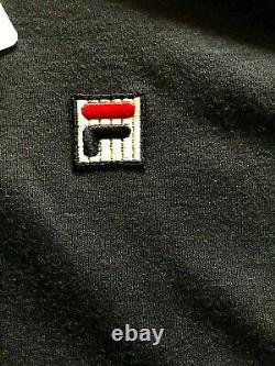 Fila Bjorn Borg Settanta Tennis Track Jacket Retro Vintage Wool Blend XXL 2xl