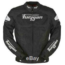 Furygan Atom Ventilé Textile Veste Moto Noir