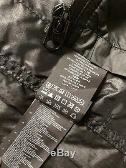G-star Raw Noir Revend Sp Surchemise Léger Manteau De Veste De XL New & Tags