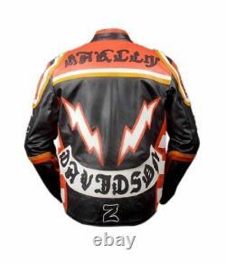 Harley Davidson Mickey Rourke Biker Veste En Cuir