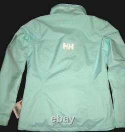 Helly Hansen Authentic Women's W Crew Jacket 30287-501 Blue Tint New Twt