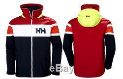Helly Hansen Authentique Sel Flag Veste Capuche 33909 599 Imperméable Coupe-vent Marine