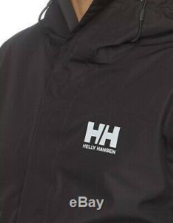 Helly Hansen Seven J Veste De Pluie Imperméable, Coupe-vent Et Respirante Sz M $ 175