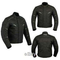Hommes Moto Cordura Veste Moto Imperméable Cycliste Textile Top Ce Armures