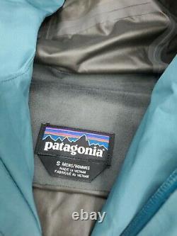Hommes Petite Patagonie Calcite Gtx Pluie Veste Anti-vent 249 84986 $ Teal Gore-tex