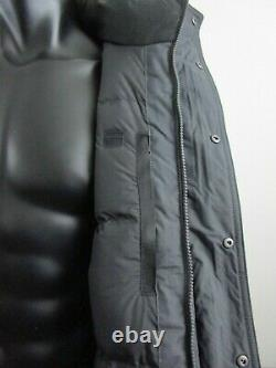 Hommes Tnf La Face Nord Mcmurdo III Down Parka Chaud Insulated Hiver Jacket Grey