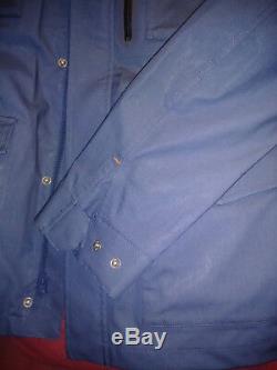Jack Spade Small Veste Militaire Imperméable Bleu P2ru2423
