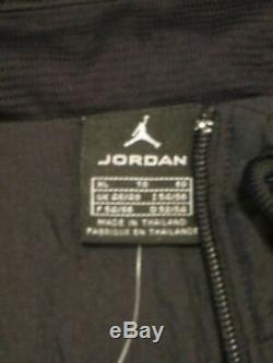 Jordan Retro IV Blouson Noir Taille XL Neuf Avec Étiquettes