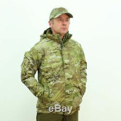 Keela Special Forces Odin Belay Veste Isolante Etanche 2.0 Camojkt455 Sur Le Terrain