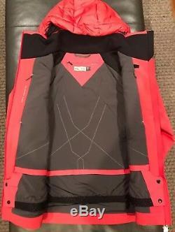 Kjus Femmes Scylla Down Jacket Ski. Sz. Ue 36 / Small (6 Us). Géranium. Nouveau