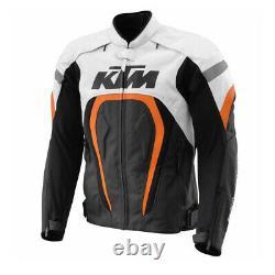 Ktm Moto / Moto Motogp Race Street Vitesse En Cuir De Vache Veste En Cuir