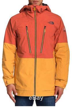Le Conseil Penseur Libre North Face Men Medium Neige Orange Veste Nouveau
