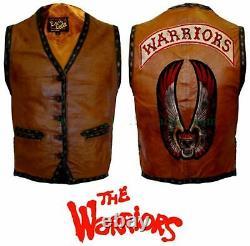 Le Film Warriors Veste/jacket En Cuir Véritable