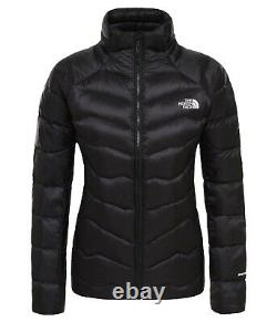 Le Pertex Femmes North Face Down Jacket En Noir, Royaume-uni Taille Xs Extra Small