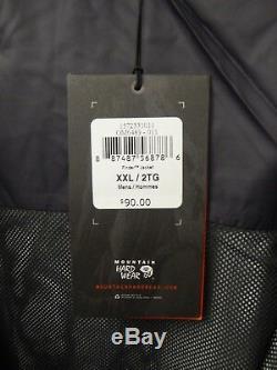 Les Nouveaux Hommes De Mountain Hardwear Finder Rain Jacket-gris- Asst Om6489 Tailles-- 87,50 $
