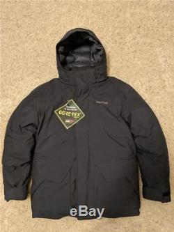 Marmot Colossus Veste Gore Tex Down Fill 700 Manteau Expedition Imperméable Noir L